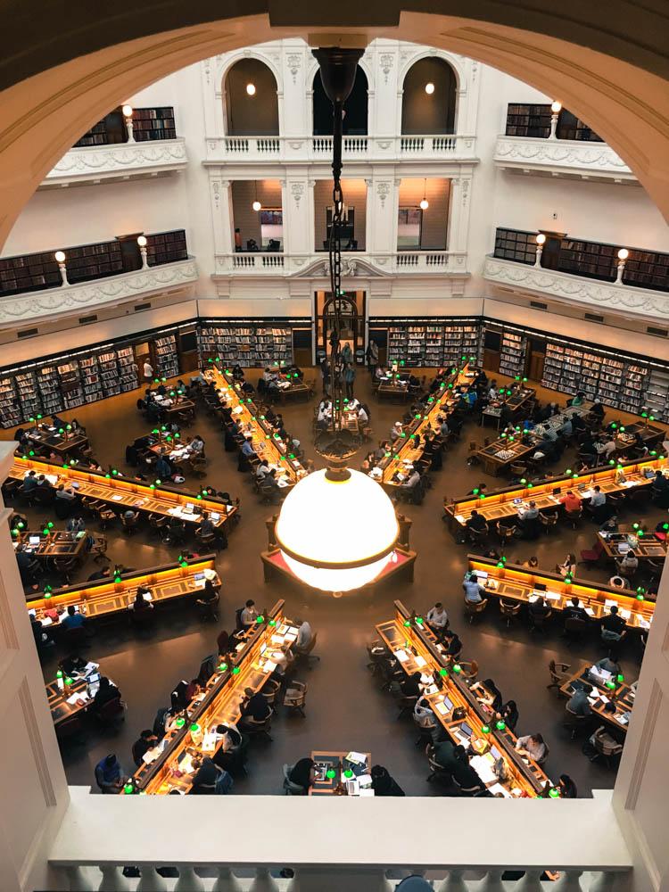 Interior of State Library Victoria