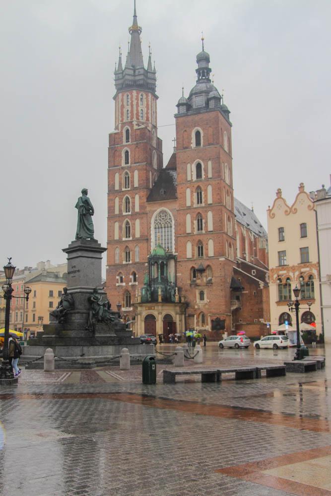 St Mary's Basilica Krakow Poland