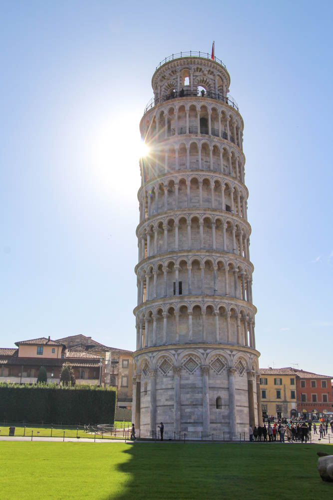 Travel guide Pisa Italy