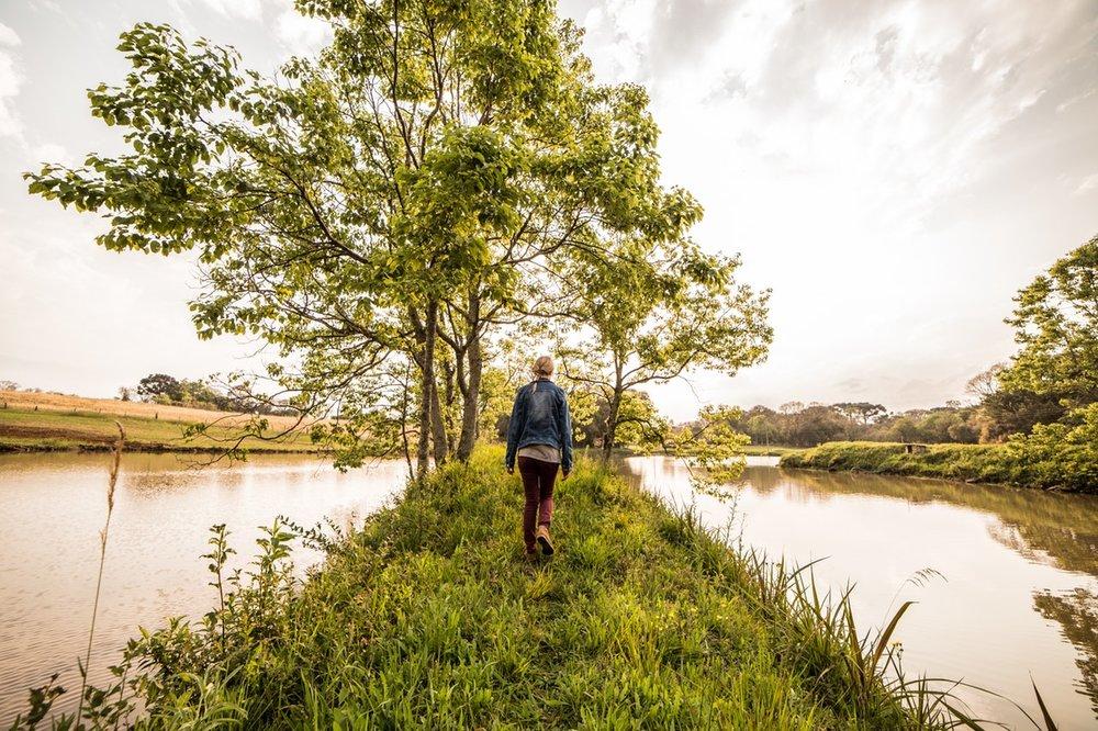 walking benefits outside