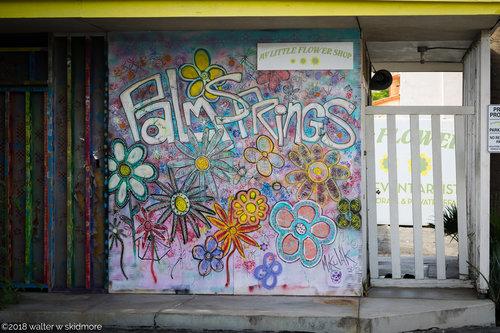 Gallery walter w skidmore my little flower shop graffiti wall palm springs mightylinksfo