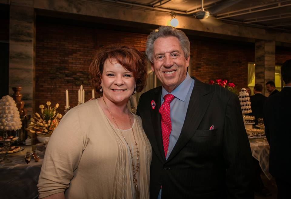 Jill Poulton with John Maxwell in Paraguay, 2016.