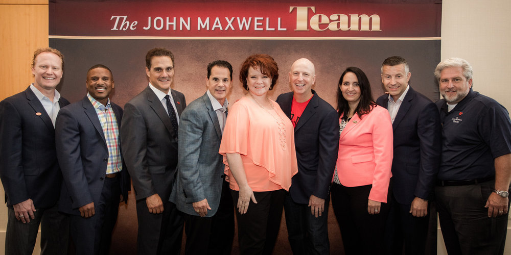 The John Maxwell Team, including Jill Poulton.