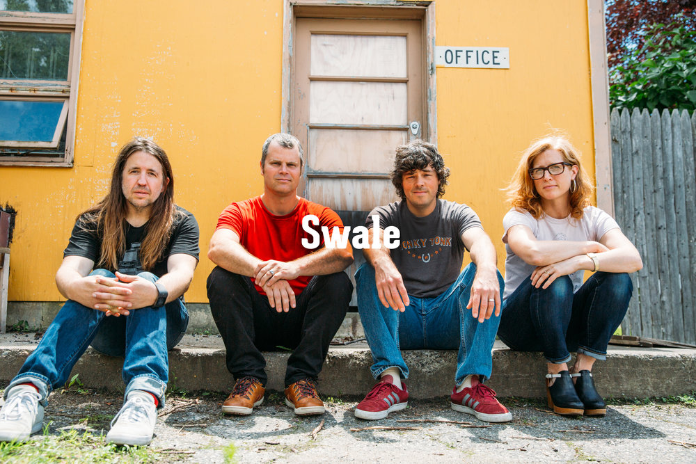 Swale does it all. Amanda Gustafson, Jeremy Frederick, Eric Olsen, and Tyler Bolles are true rockstars. Between raising families and having full time jobs... They still find time to practice and make this band a true inspiration for up and coming rockers around the Northeast.