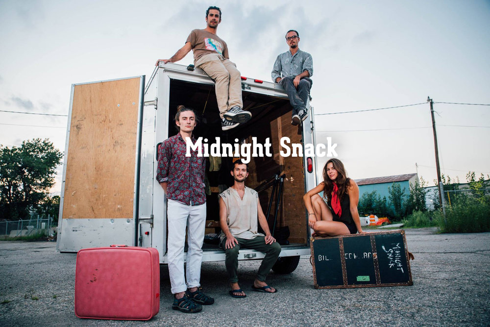 Midnight Snack is an art pop band based in Asheville by way of Boston.