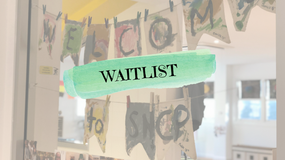 Follow the below steps to complete a waitlist form! - Please be aware that we have very limited spaces for two and three year olds currently.