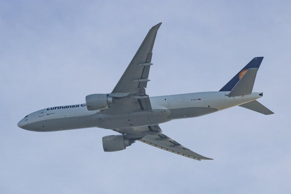 Lufthansa Cargo 777-F Reg: D-ALFD