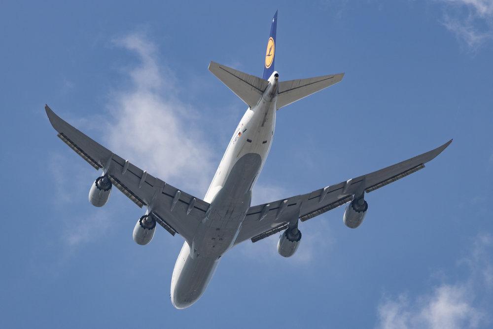 Lufthansa 747-800 Reg: D-ABYC