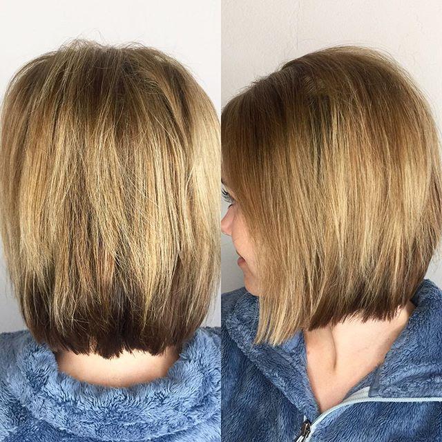 Short, fun and sassy! #hermosasalonokc #hermosaedmond #shorthairdontcare #hairgoals #haircolor @hermosa.salon with Tori