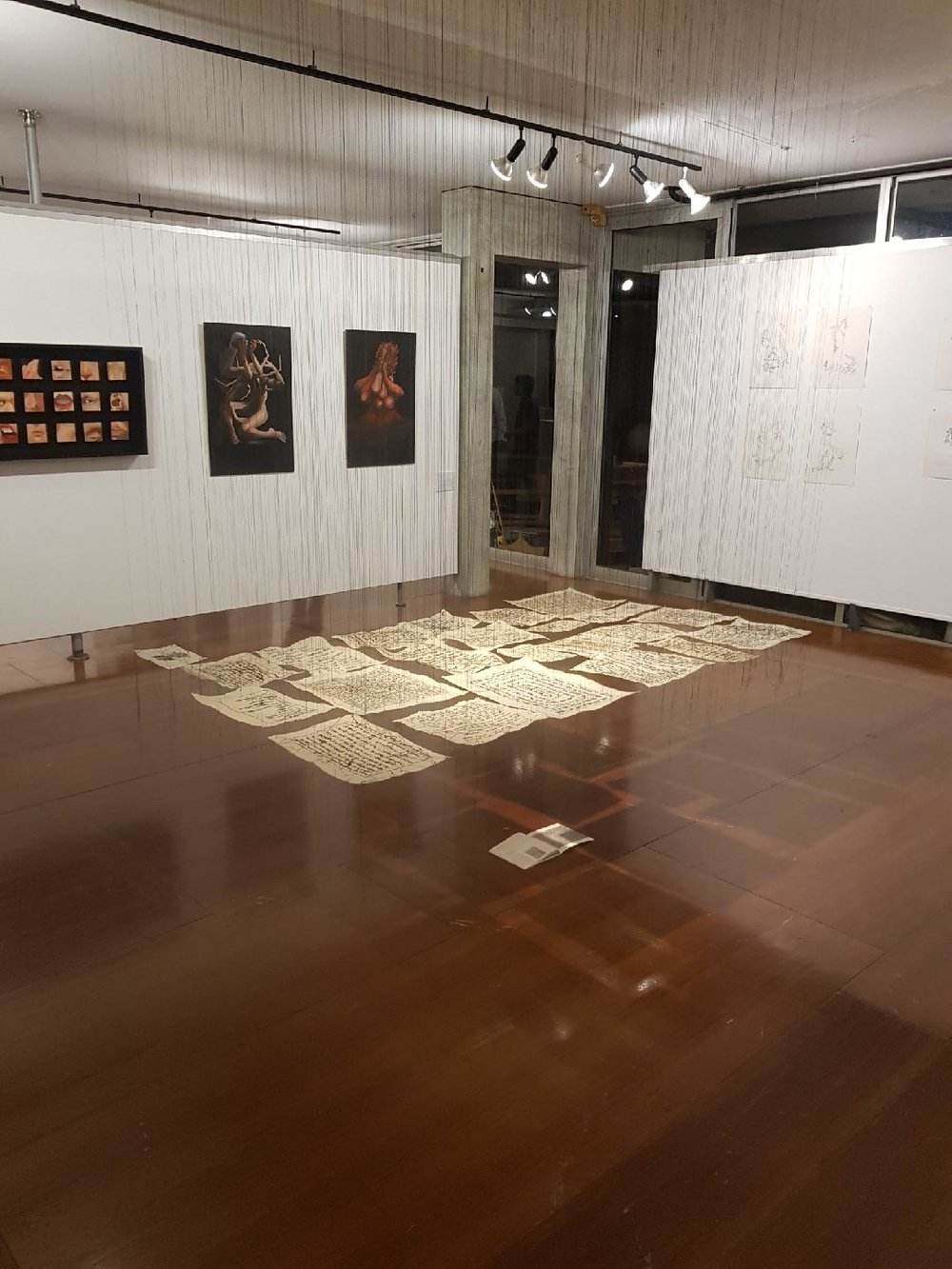 Mindfield: The Sewing Seeds     FAM17 (Cullity Gallery, University of Western Australia).