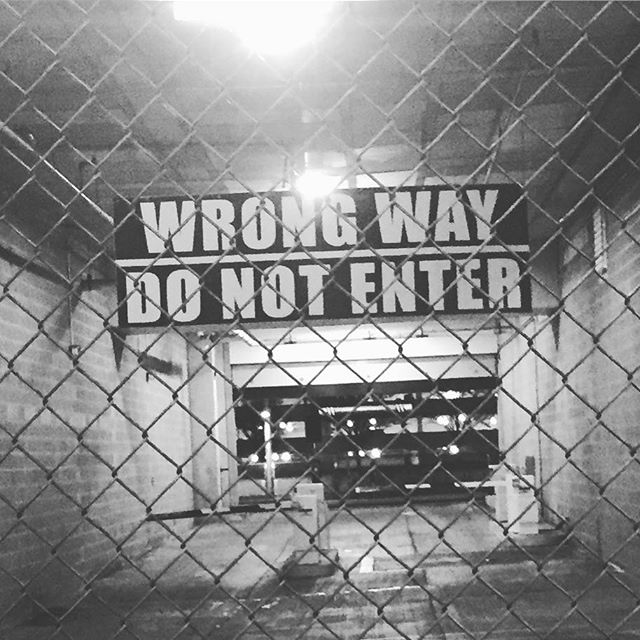 #imgoingin #wrongway