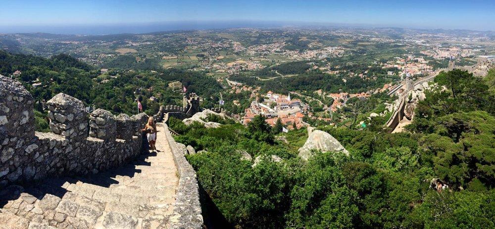 Sintra Moorish Castle Portugal anna kooiman www.annakooiman.com