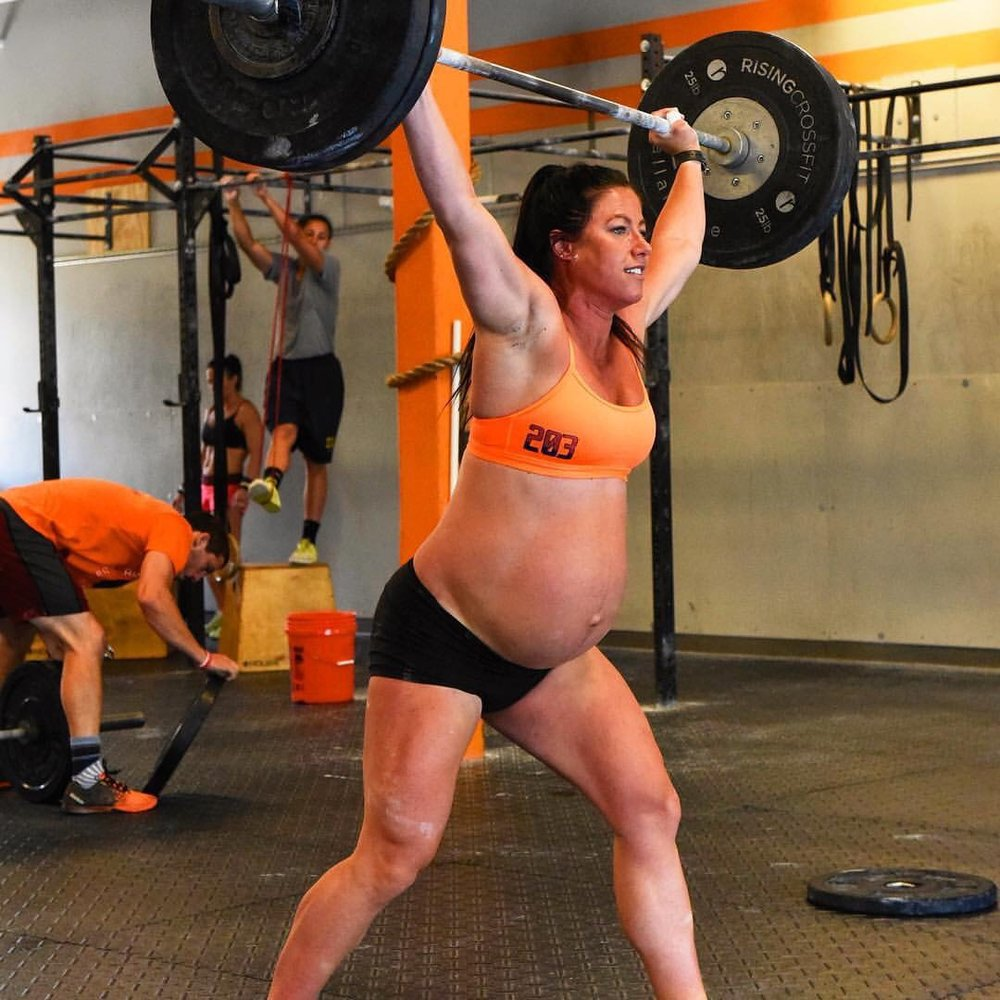 Milf weight lifter