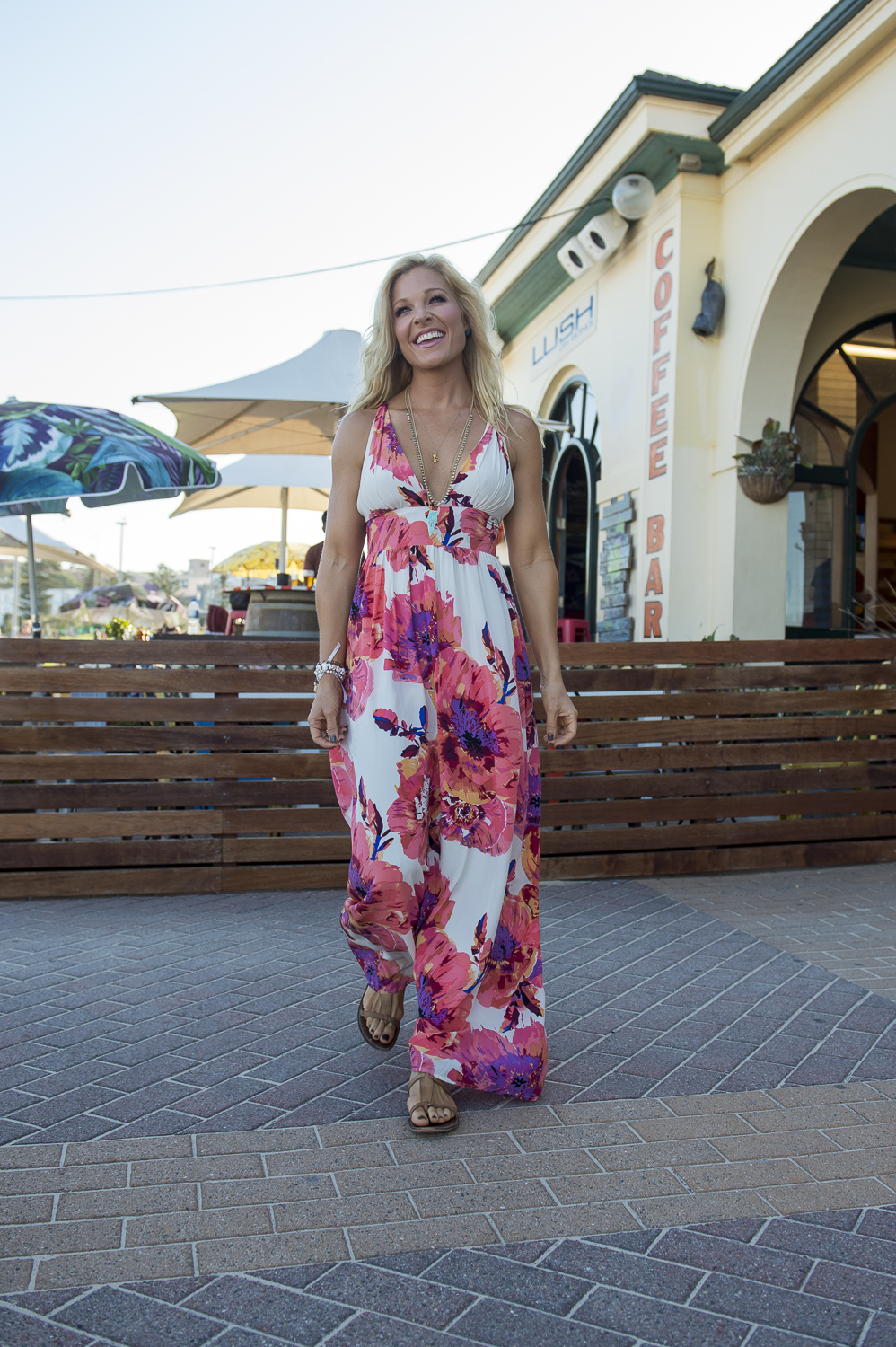 Anna Kooiman Bondi Beach Maxi Dress Lyndon Marceau