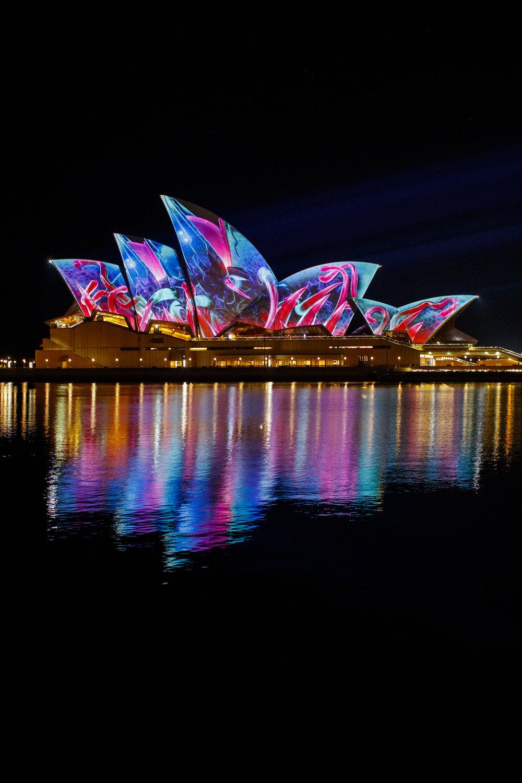 Vivid Sydney Opera House Anna Kooiman AnnaKooiman.com