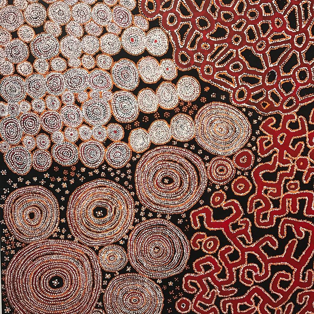 aboriginal art annakooiman.com canberra travel australia anna kooiman indigenous art aboriginal