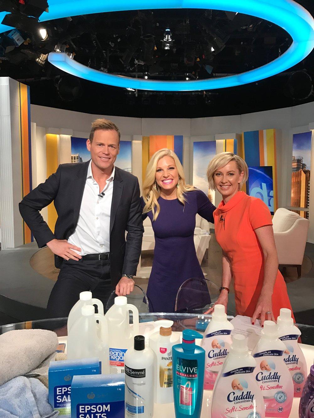 Anna Kooiman The Today Show Australia Deb and Tom 2017 AnnaKooiman.com fitness travel lifestyle
