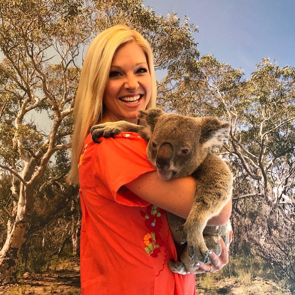 Anna Kooiman AnnaKooiman.com Fitness Travel Lifestyle Fashion Koala Cairns Tropical Queensland Australia