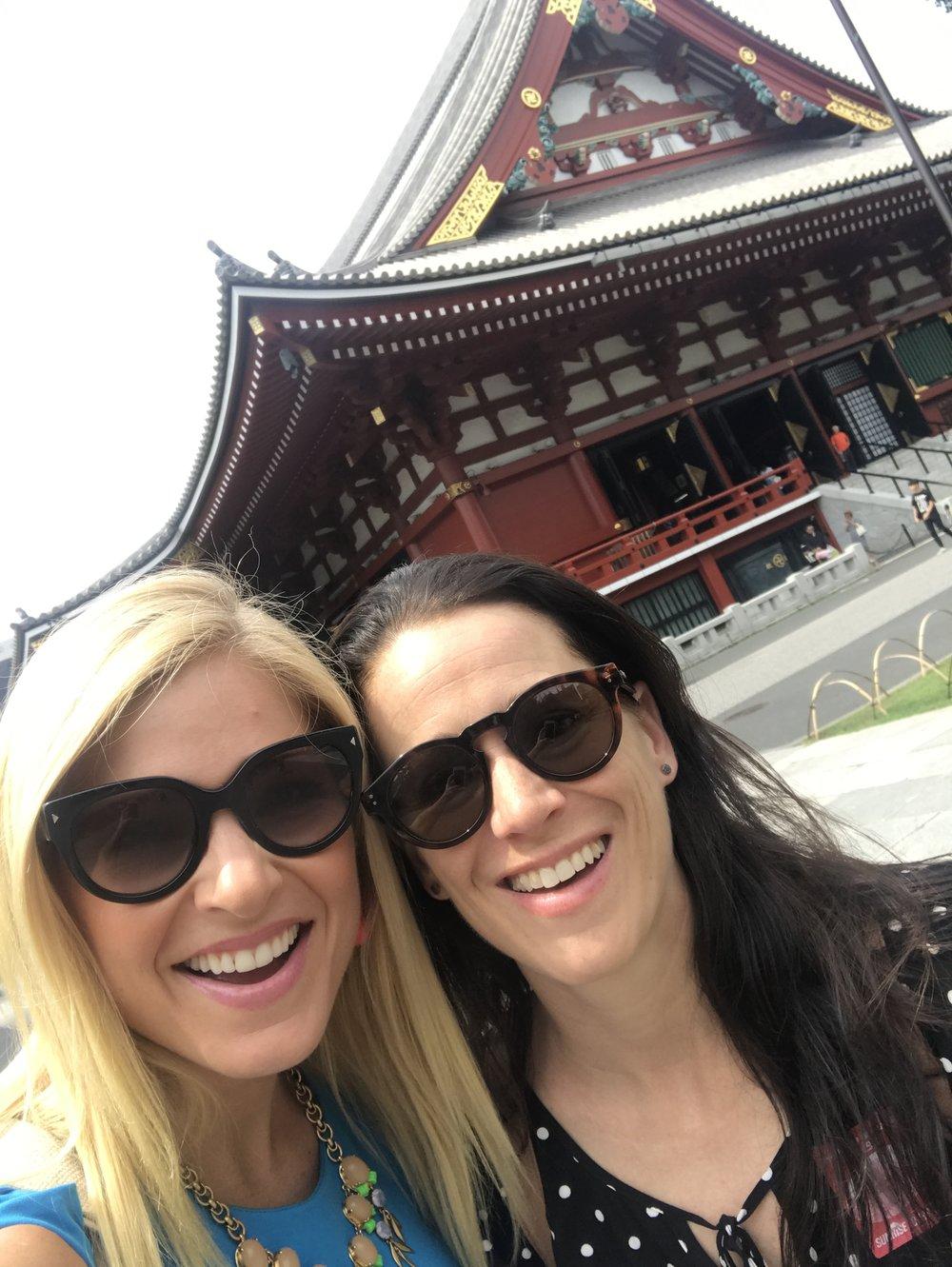 Anna Kooiman and Jill Tokyo Seoul Beijing