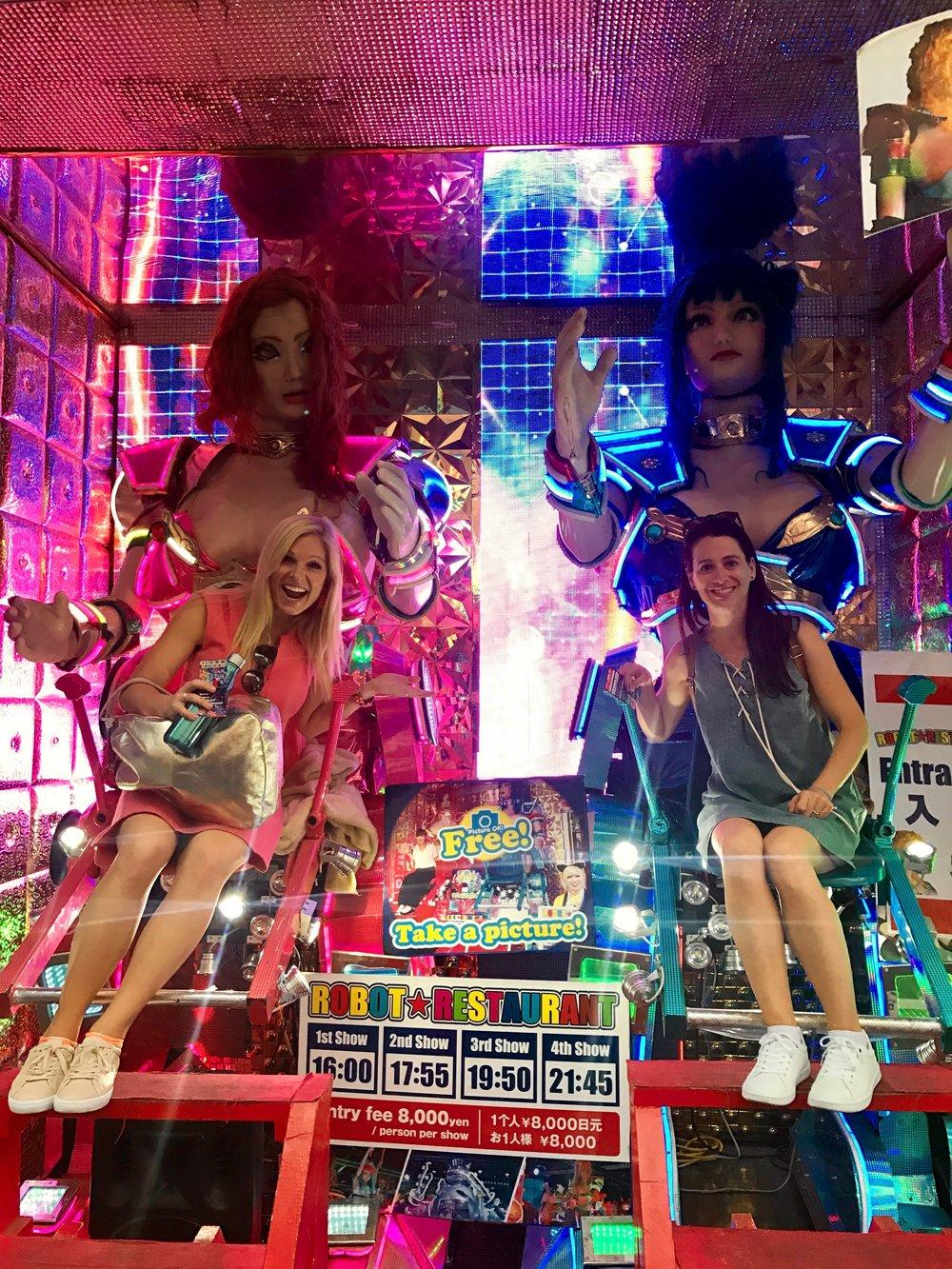 beijing seoul tokyo anna kooiman fitness travel lifestyle fashion asia adventure  robot show cabaret
