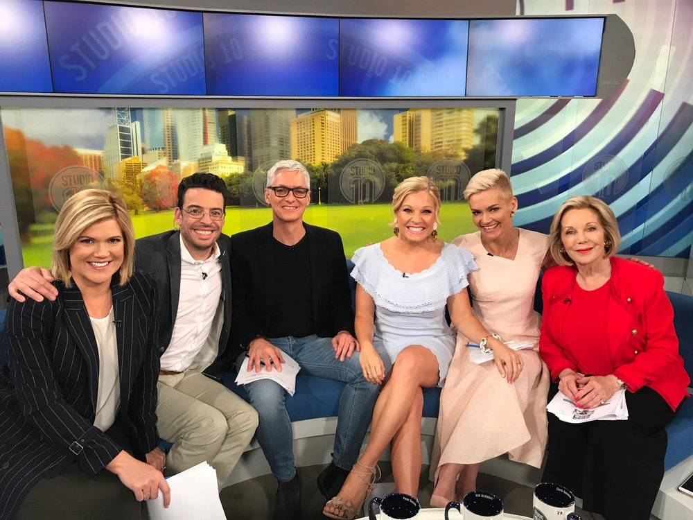 Anna Kooiman Studio 10 Australia TV Morning Chat Show Entertainment Headlines