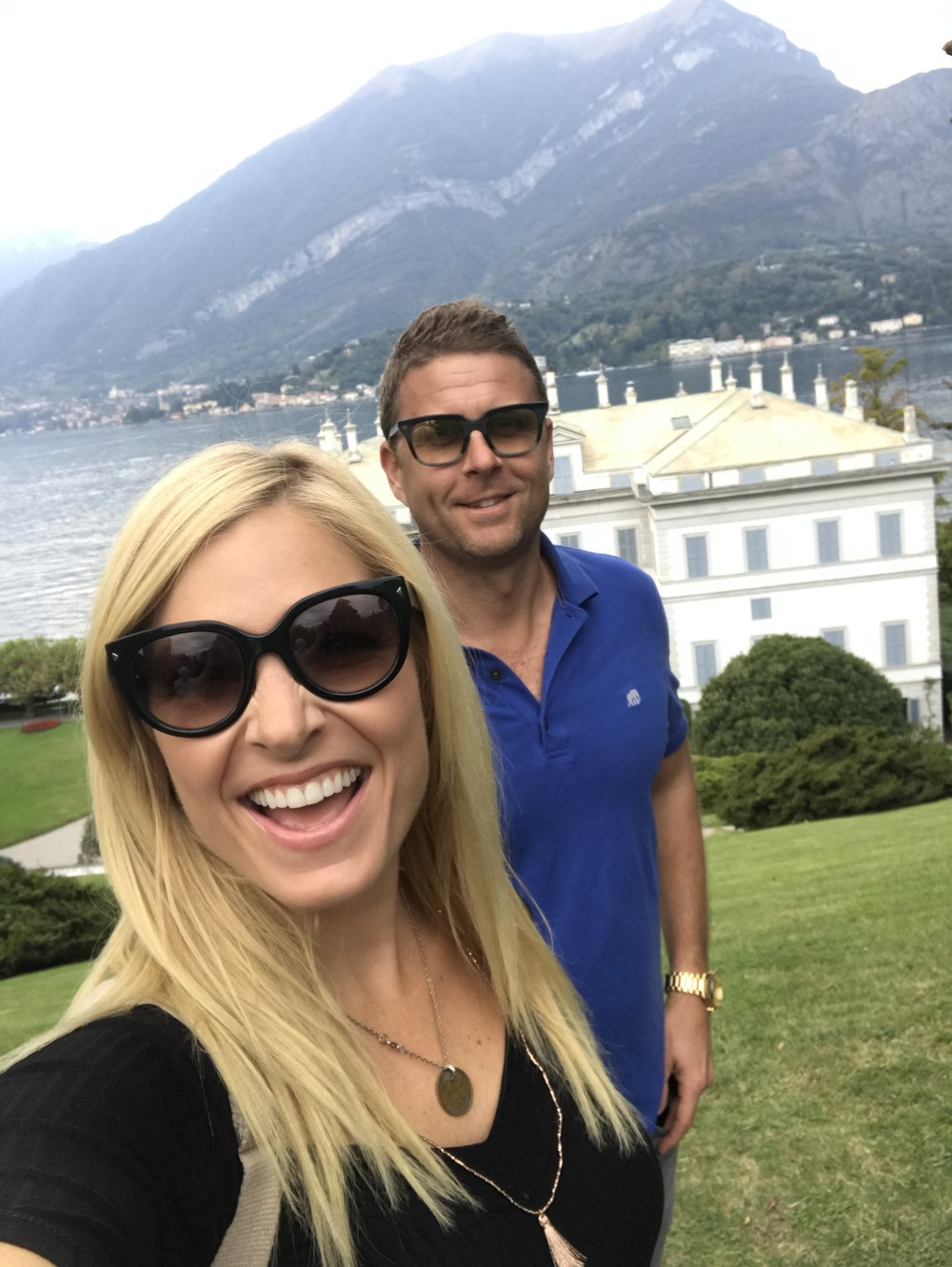 Anna Kooiman annakooiman.com fitness travel lifestyle television fashion adventure italy lake como bellagio duomo northern italy swiss alps piedmont ferry captain boat cobblestone streets elegant restaurants terrace gardens