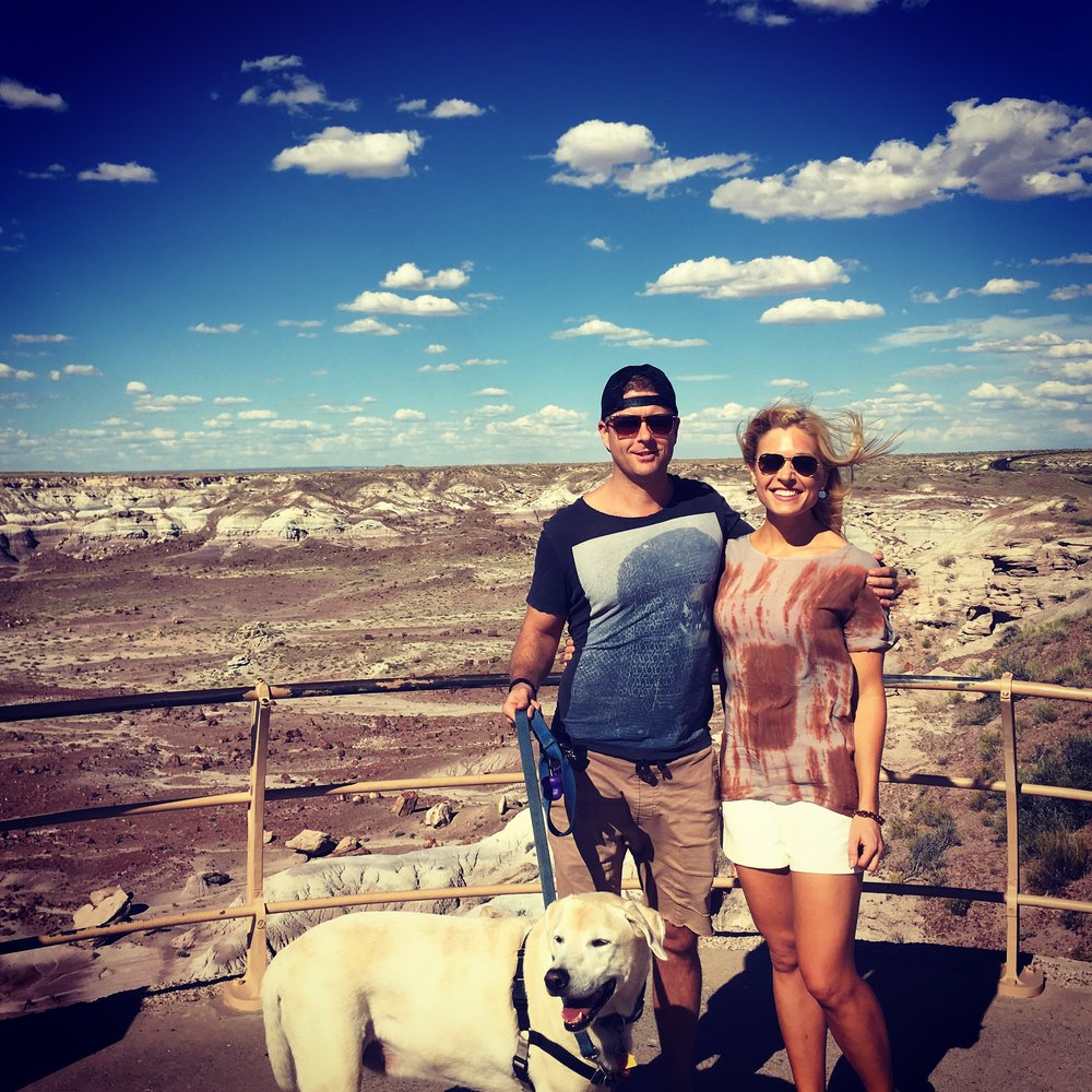 Anna Kooiman Sir Baxter Bear Road Trip Painted Desert Grand Canyon sea to shining sea