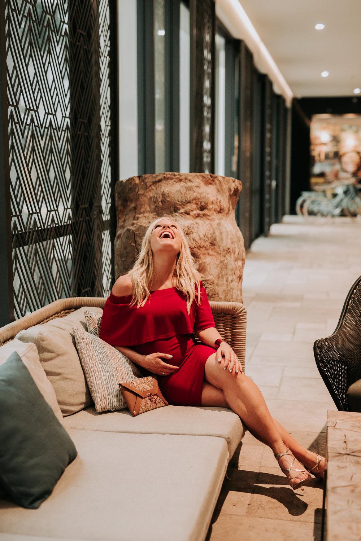 Anna Kooiman annakooiman.com fitness travel lifestyle pregnancy fashion style australia usa new york charlotte la los angeles nyc nc north carolina red dress