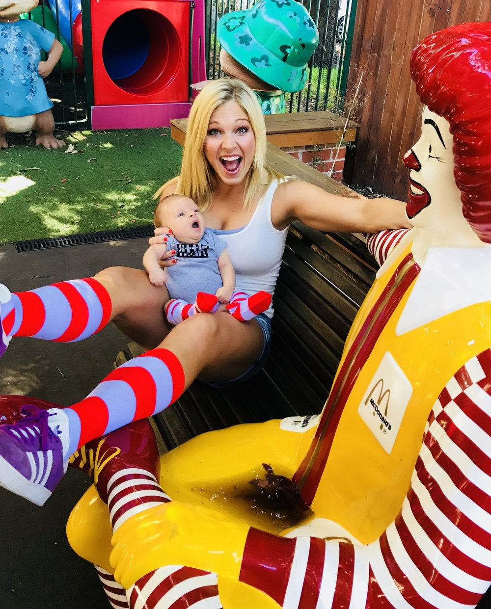 Anna Kooiman and Brooks Ronald McDonald House Charities Fun Run annakooiman.com