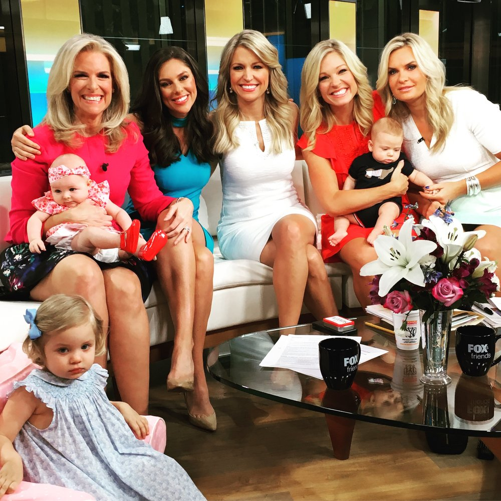 Anna Kooiman Fox News Fox and Friends April 2018 Fox Moms Foxy Mamas Working Moms Career Women Mom
