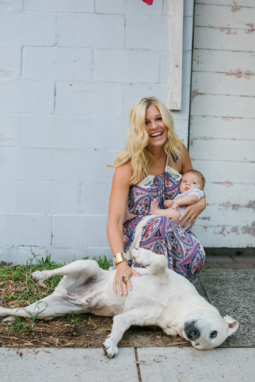 anna kooiman breastfeeding and nursing fashion new mom sydney australia bondi beach baby mum mummy mom dog lab labrador babies style fashion what to wear