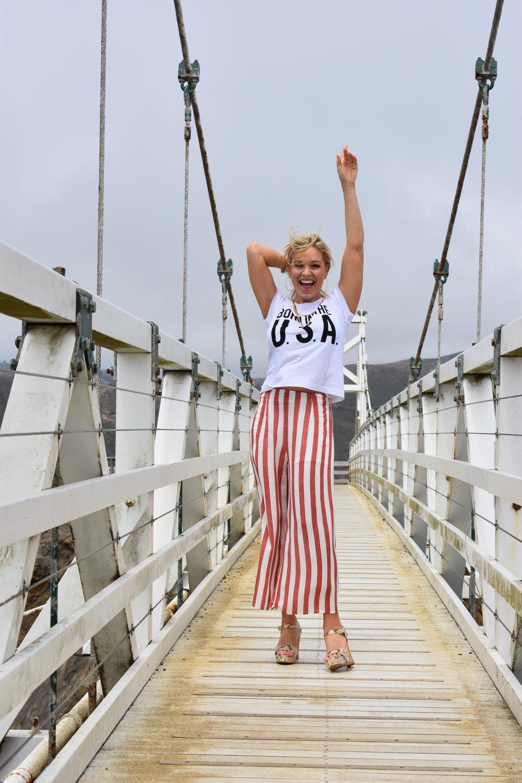 Anna Kooiman July 4th San Francisco Wildfox Couture Born in the USA