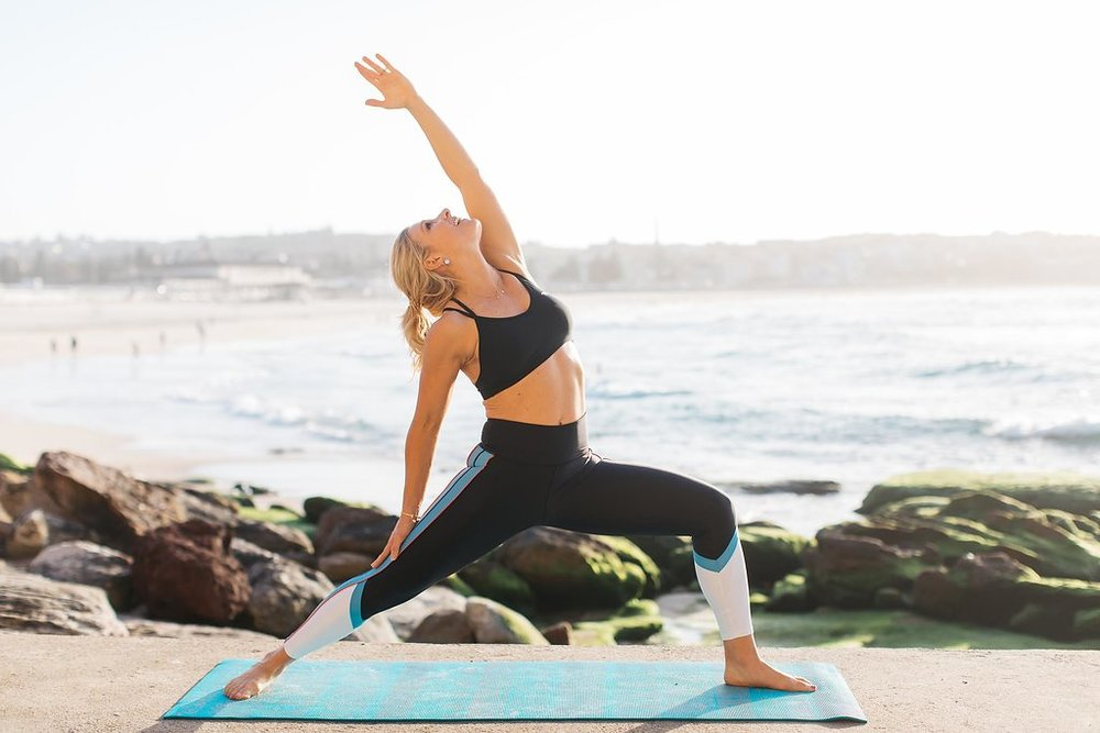 Anna Kooiman yoga bondi beach sydney australia what is lifestyle medicine fitness travel lifestyle