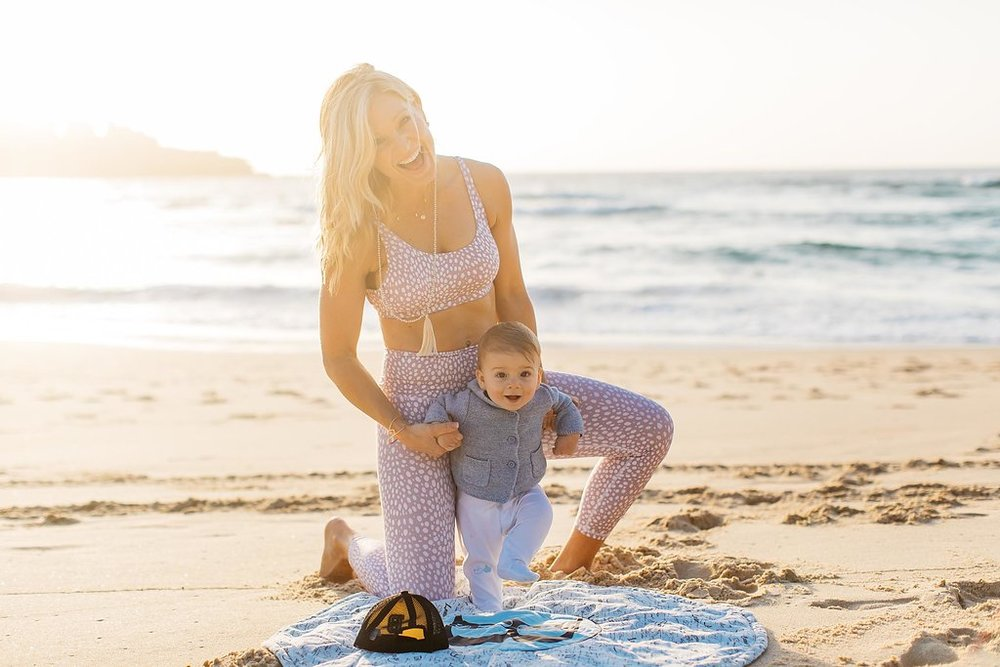 Anna Kooiman and Brooks Kooiman Strong Sexy Mammas Hero Photo Bondi Beach Sydney Australia 2018