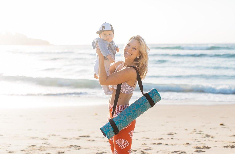 Anna Kooiman baby involved fitness strong sexy mammas