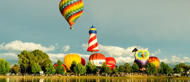 Wairarapa Balloon Festival - Resene Splash n Dash - Saturday 31 March 07:00amHead along to the Resene Splash n' Dash Competition on Good Friday morning at Henley lake where you will see balloons launch upwind of the lake and attempt to score points through a variety of exciting skill challenges. ...