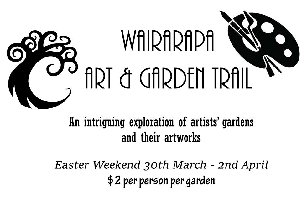 - The upcoming Wairarapa Art & Garden Trail is designed to work in with the Wairarapa Balloon Festival over Easter Weekend, and will fill in the gaps for festival goers looking for activities during the balloon down time. Running over four days from Friday 30th March to Monday 2nd April, ten Wairarapa artists' gardens and their artwork displays will be open to the public from 10am – 3pm each day. There will be a free map in the Wairarapa Midweek the Tuesday before Easter Weekend.Instead of buying one expensive ticket to see all the gardens on the trail, Wai Art Trust has designed the trail to make it more affordable; entry is $2 per garden per person. No pets and not suitable for children.