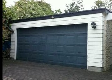 Pressed Panel Garage Door
