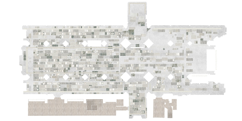 Bath Abbey Footprint Project - FCBStudios