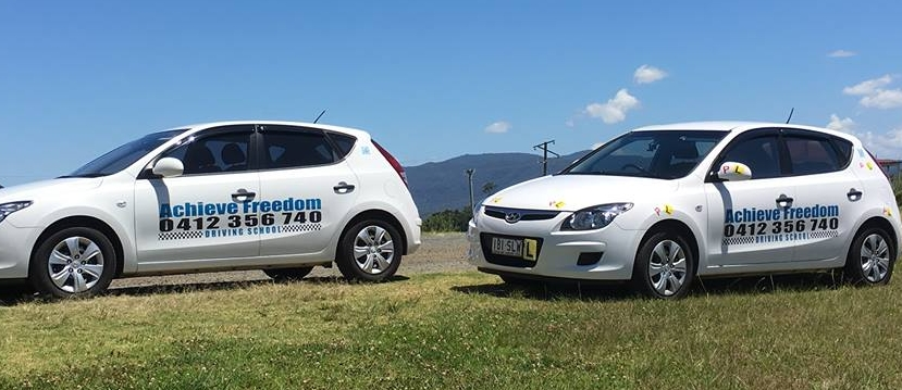 Achieve Freedom driving school 0412356740