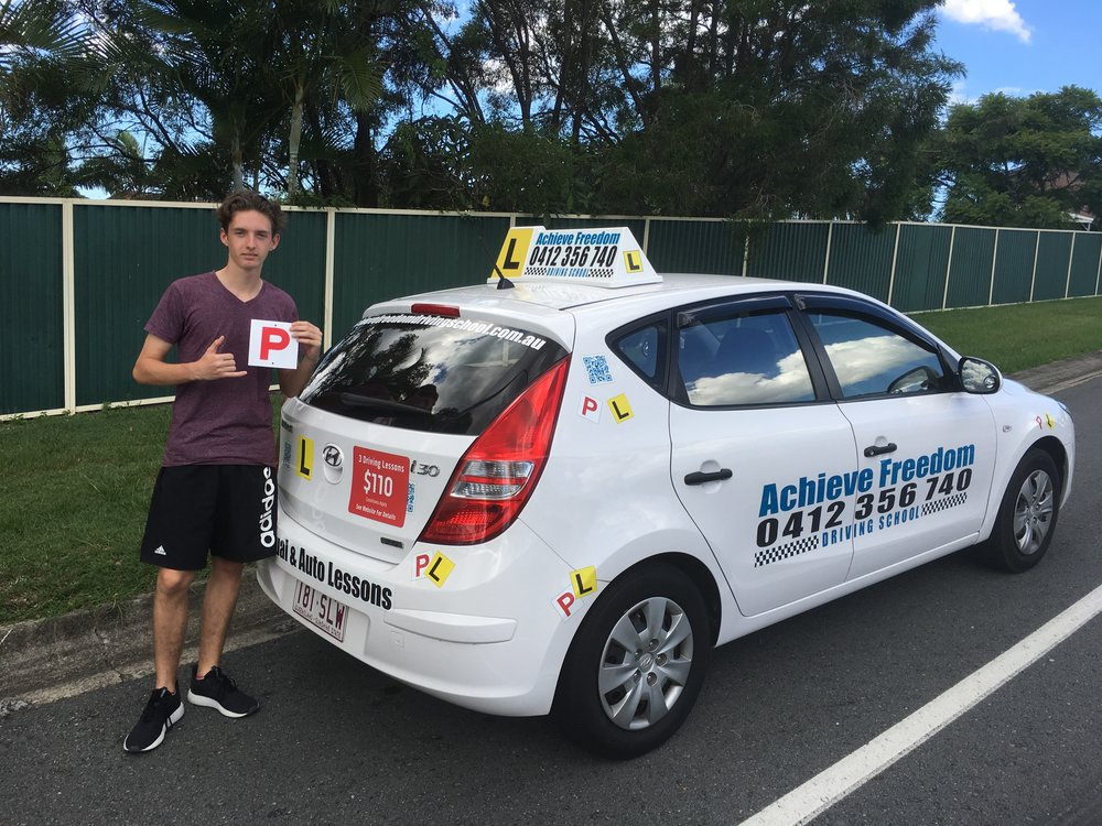 Matt Clare passed his driving Test on the Gold Coast near Warner Brothers Movie world at the Helensvale branch 100% pass, in the automatic i30! Great work Matt.