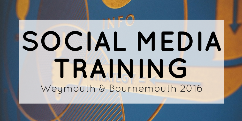 Social Media Training Banner Small