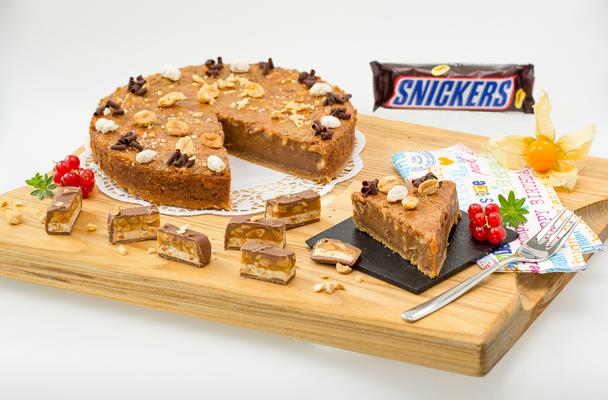 Snickers Torte Qimiq Schweiz