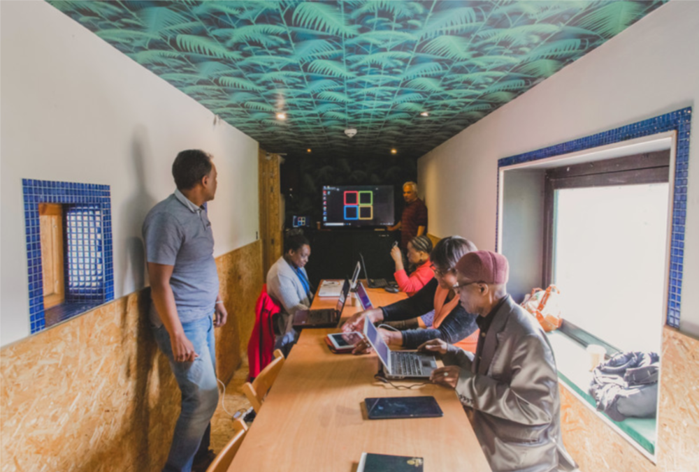 Action - We coordinate opportunities for seasoned entrepreneurs at Pop Brixton, Peckham Levels and other local entrepreneurs to volunteer their time to inspire and equip others in the local community.