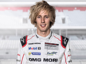 Brandon Hartley, <br> Race Driver