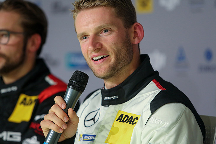 Marco Engel,<br> Race Driver