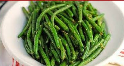 Garlic Green Beans -