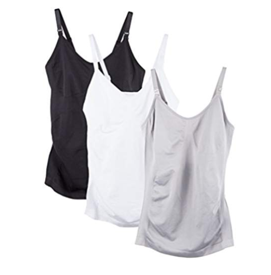 Breastfeeding tank tops