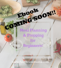 Meal planning eBook