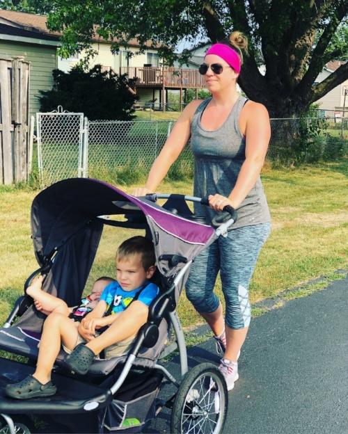 Double Jogging Stroller FunFitnessMama